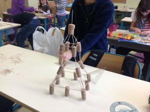 Activités de découverte de l'architecture avec des enfants de CM1-CM2