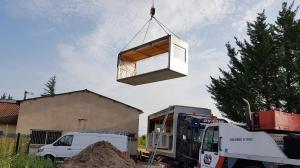 Extension d'une école primaire, Corcelles en Beaujolais, 2018 - David Ratanat Architecte