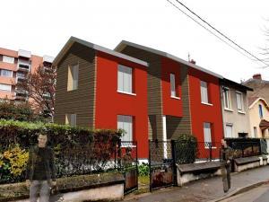 Réhabilitation et extension d'une maison - Bron. Architecte David Ratanat