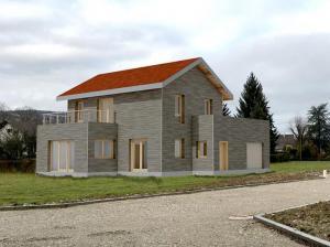 Maison bois - Yenne. Architecte David Ratanat
