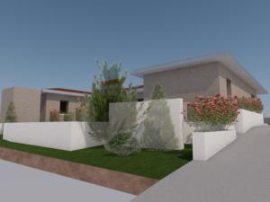 Construction d'une maison contemporaine à Craponne / Projet M. et Mme V. / Juin 2020 / Conception : David Ratanat Architecte DPLG