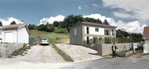 Construction d'une maison individuelle (Isère)