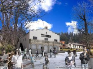 Réfectoire d'un centre de Vacances, 2019 - David Ratanat Architecte(en cours de construction)